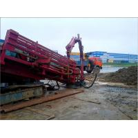 Buy High Powered Horizontal Directional Drilling Rigs , Crawler Drilling Rigs at wholesale prices
