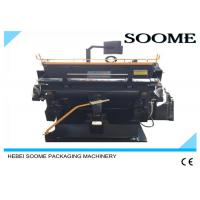 China Professional Die Cutting And Creasing Machine Manual For Corrugated Flute Box on sale