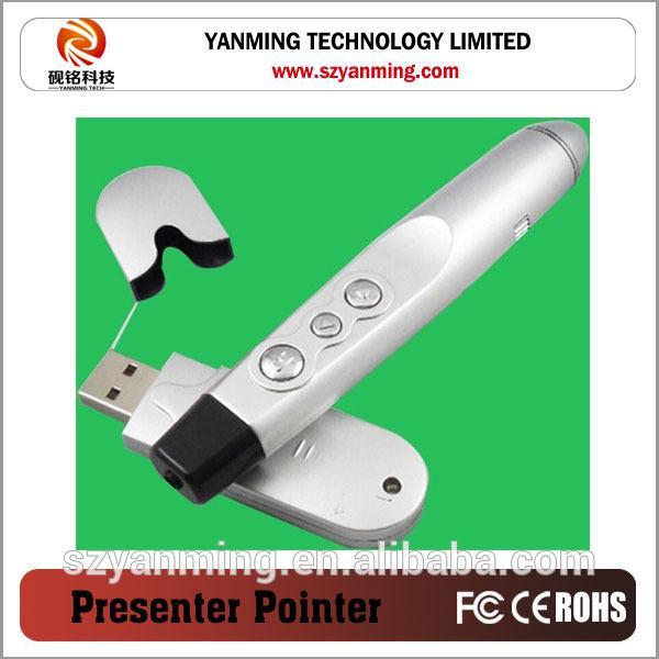 Wireless Power Point Presenter Laser Pointer
