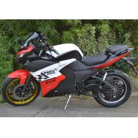 Quality Hydraulic Suspension Road Racing Motorcycles with Air Cooled / Water Cooled Engine Type for sale
