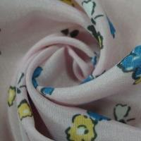 Quality QC016 100% polyester fabric with printing, 75x160D specification, 107x74 density, 57/58-inch width for sale