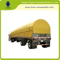 Buy cheap multipurpose pvc coated polyester tarpaulin used for side curtain pf truck cover made in china Tb005 from wholesalers