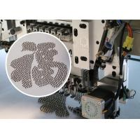 Quality High Performance Beads Embroidery Machine / 9 Needles Flat Embroidery Machine for sale