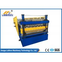 Quality Custom Voltage Double Layer Roll Forming Machine , Automatic Roll Forming Machine for sale