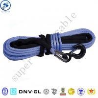 Buy cheap 27m uhmwpe Braid Winch Rope 12 weave off-road electric synthetic winch rope from wholesalers