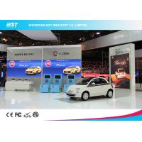 High Brightness P7.62  SMD3528 Indoor Advertising Led Display Screen For Auto Show