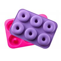Quality Silicone Donut Baking Pan, Non-Stick Donut Mold, Dishwasher, Oven, Microwave, Freezer Safe,BPA_free for sale