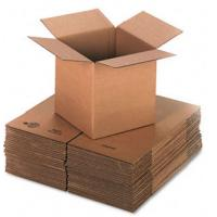 Buy cheap Self Locking 3 Layers Corrugated Packaging Boxes Plain Cardboard Paper Box product