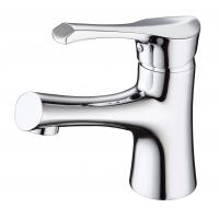 Quality Brass Ceramic modern bathroom Sink Faucets with  Single Hole for sale