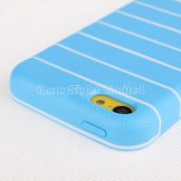 Quality Ultra thin stripe tpu case for iphone 5c for sale