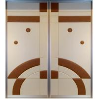 Aluminum Closet Doors Changing Out Metal Closet Doors Citymeetscountry Aluminium Bi Folding