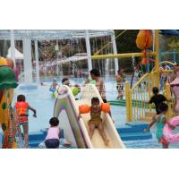 Quality Fiberglass Water Pool Slides in Medium Water Playground 3200*2700*1300 for sale