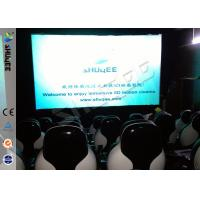 Quality 220V Of 5D Cinema Equipment , Luxury 5D Mobile Seats With Professional Design for sale
