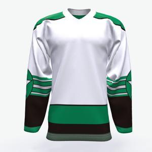 China Free Design Custom Youth Ice Hockey Jerseys , 100% Polyester Ice Hockey Wear on sale