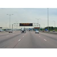 Buy P25 4R2G Programable Led Sign , Outdoor Electronic Display Boards For Highway Three Lane at wholesale prices