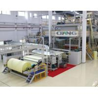 China Single Beam PP Non Woven Fabric Making Machine / Production Line high strength on sale