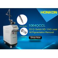 Buy cheap Wrinkles Removal And Skin Rejuvenation Q Switch Nd Yag Laser For Pigmentations Reduction Machine product
