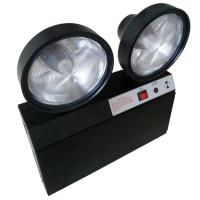 Quality Steel Casing Black 2x1.5W Two Heads Led Emergency Twin Spot With Test Button for sale