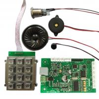Quality Hands free Industrial Analog Telephone Circuit Board with Keypad for sale