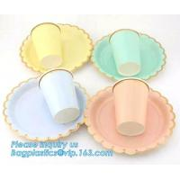 Buy fancy paper plates,custom printed disposable paper plates,biodegradable eco friendly bagasse plates custom sugarcane dis at wholesale prices