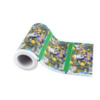 China wholesale plastic packing food film laminated ice pop packaging bags on roll on sale