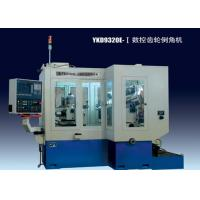 Quality 12KVA Gear Chamfering Machine With Siemens 802d 4 Axis CNC System, Carbide Alloy Cutters for sale