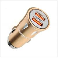 Buy cheap Electric Products QC 3.0 Universal USB Car Charger Charging / Power Bank product