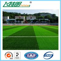 Quality Outdoor Fake Monofilament Artificial Grass Football Field Turf 9800Turfs / sqm for sale