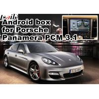 Quality Android GPS navigation box for Porsche Macan Cayenne Panamera PCM 3.1 Andrid app 360 panorama etc for sale