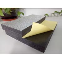 Quality Sound / Thermal HVAC Insulation Foam XLPE 1m-2m Width With Aluminum Foil / Glue for sale