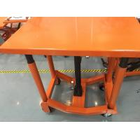 Quality Orange Post Mobile Scissor Lift Table High Strength For Air Conditioning for sale