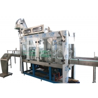 China Touch Screen 2000BPH Mineral Water Bottling Machine on sale
