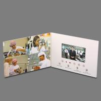 Buy cheap OEM Thinnest LCD Video Brochure Card , Touch Screen Video Greeting Card product