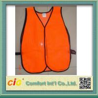 Quality High Visibility Reflective Protective Clothing Reflective Safety Jackets , Custom Safety Vests for sale