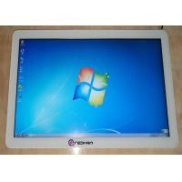 Quality White Frame Wall Mounted Digital Signage Capacity Touch 10 Point Windows Operation System for sale