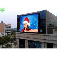 Quality Light weight Advertising LED Screens p20 outdoor full color led display DIP for sale