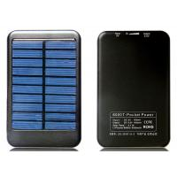 Quality Portable Solar USB Phone Charger / 5000mah Emergency USB Charger for sale