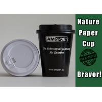 Quality 380ml Corrugated Recyclable Paper Cups PE Coated For Coffee Drinking for sale