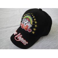 Quality Custom Polyester / Acrylic Sports Baseball Caps Personalized With Embroidery Logo for sale