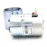 2700Rpm Hydraulic 24v Electric Motor 2.2KW N2024 Silver Color With Shaft
