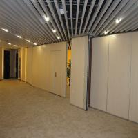 Quality Sound Absorbing Hotel Movable Wooden Wall Dividers 2000 - 6000mm Height for sale
