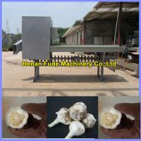 Buy Garlic root cutting machine , dehydratedgarlicchips processing machine at wholesale prices