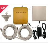 Quality WCDMA980 2100Mhz 3G mobile phones repeaters 3G amplifier with antennas 3G booster for sale