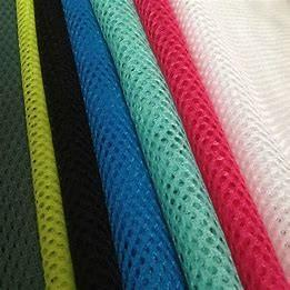 """Quality 180gsm 60"""" Garments Printing Polyester Mesh Fabric adjustable Yarn Count for sale"""