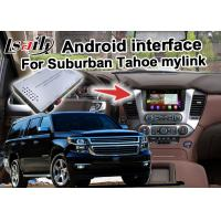 Quality Android GPS navigation box interface for Chevrolet Suburban Tahoe with rearview WiFi video mirror link for sale