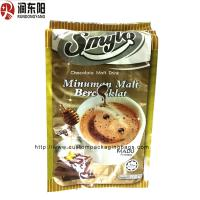China Stand Up Aluminum Foil Packaging Bags Flat Bottom Quad Seal Top Open For Coffee Bean on sale