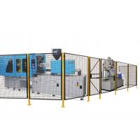 Quality Steel Full Welded Wire Mesh Machine Guarding Wire Mesh Hinged Door 7 Feet Height for sale