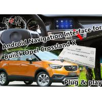 Quality Plug&Play Android Auto Interface for 2014-2018 Opel  Insignia Mokka Crossland  with  GPS Navigation Google Map WIFI for sale