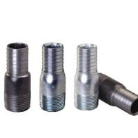 1/2-8 NPT,BSPT. galvanized steel king nipples