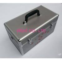 Quality Professional Aluminium First Aid Box 3MM MDF With Silver Diamond ABS Panel for sale